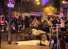 """Zamachy w Paryżu. Świadek: """"Był ubrany na czarno, profesjonalista, wiedział, jak strzelać, by zabić"""""""
