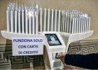 Po protestach wyłączono terminal do kart płatniczych w bazylice