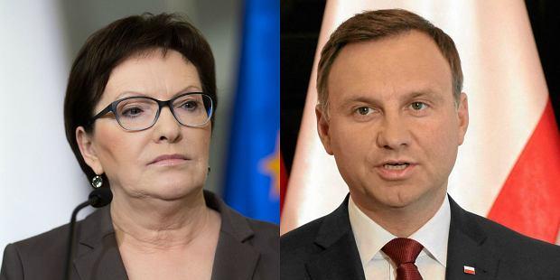 Ewa Kopacz | Andrzej Duda