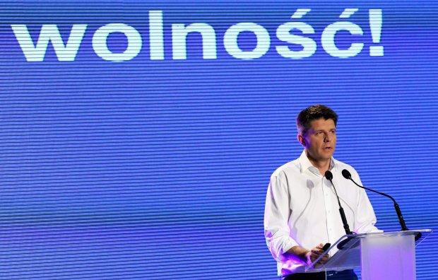Ryszard Petru podczas kongresu programowego swojej partii