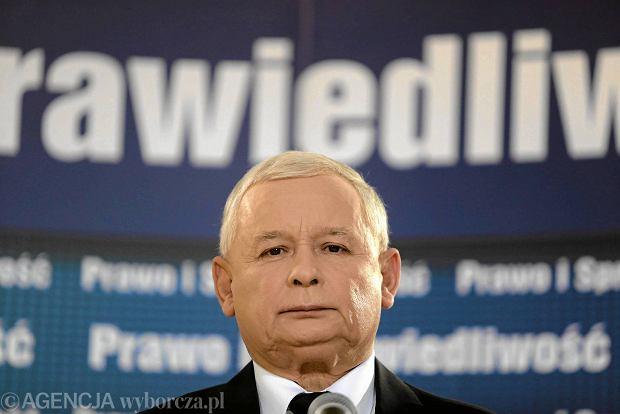 Prezes PiS Jarosław Kaczyński w Częstochowie