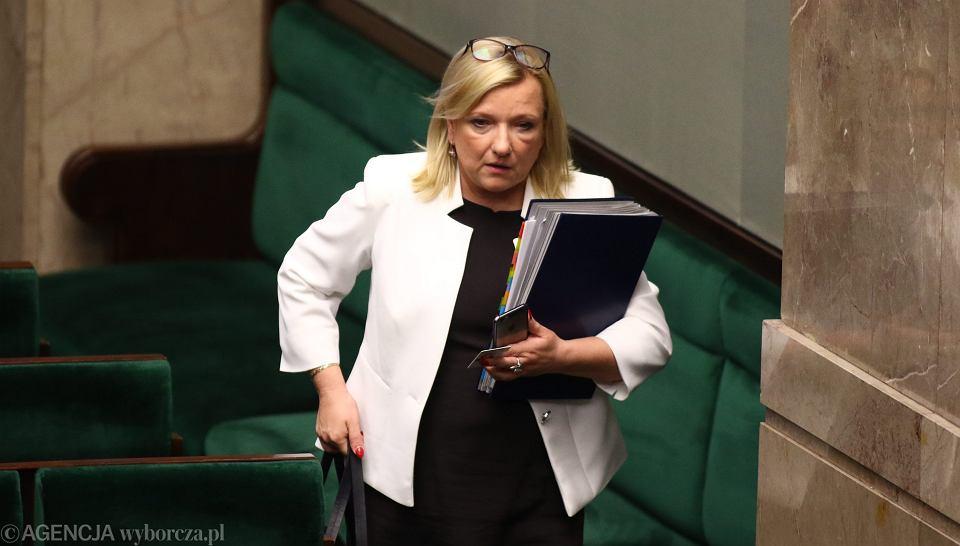 Szefowa kancelarii prezesa rady ministrów, posłanka Beata Kempa