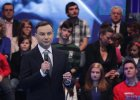 """Duda podpisuje umowę z wyborcami i ostrzega przed """"lewackimi ideologiami"""""""