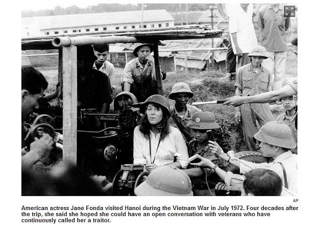 Jane Fonda, laureatka dwóch Oscarów po raz kolejny przeprasza amerykańskich weteranów za zdjęcia z Północnego Wietnamu. Ale oni nie chcą wybaczyć