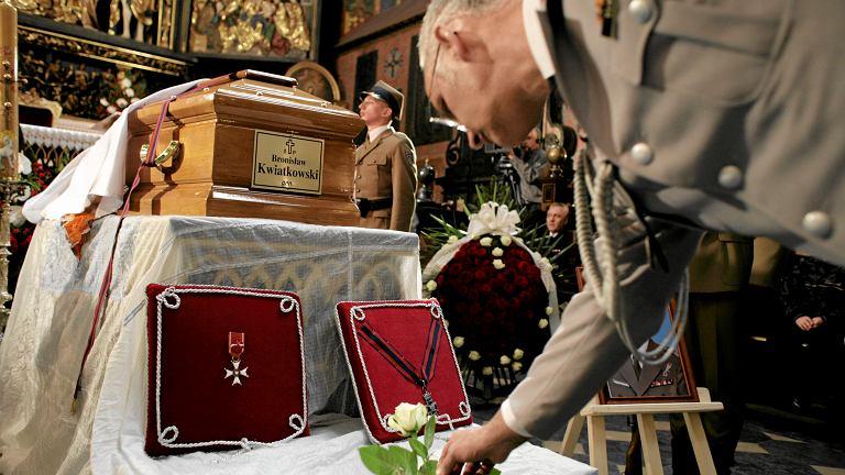Pogrzeb generała Bronisława Kwiatkowskiego