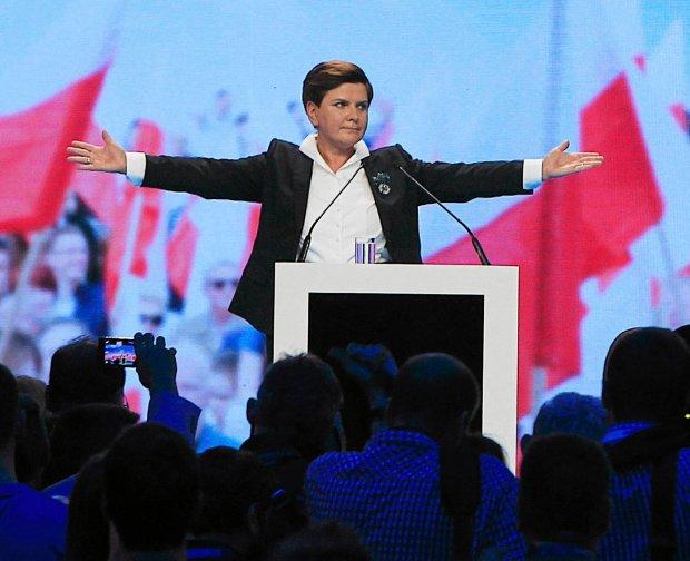 Beata Szydło, kandydatka PiS na premiera