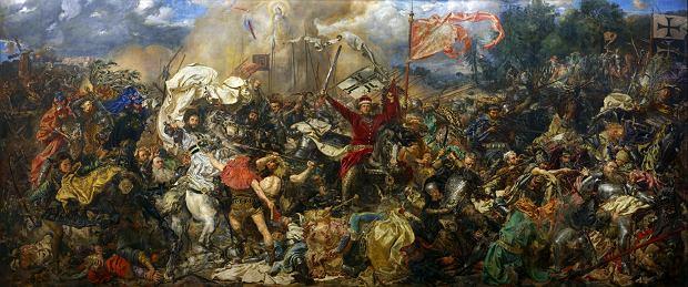'Bitwa pod Grunwaldem', obraz Jana Matejki ukończony w 1878 r.