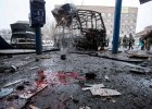 Atak na dworzec autobusowy w Doniecku. Pociski trafiły w marszrutkę, są zabici i ranni