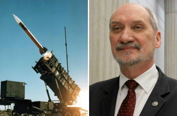 Szef MON Antoni Macierewicz oświadczył w środę, że Polska wycofa się z przetargu na system obrony przeciwlotniczej i przeciwrakietowej Patriot