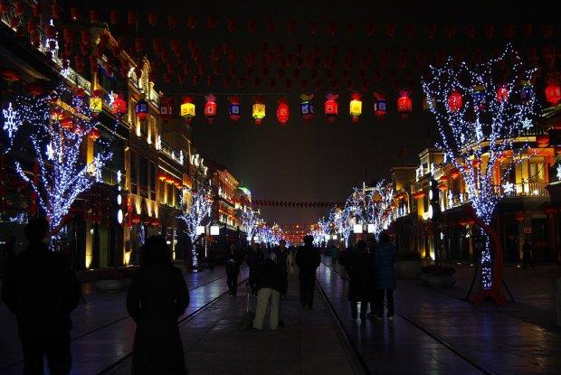 Noworoczna oprawa w Chinach
