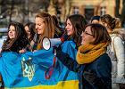 "Demonstracja pod ambasadą Rosji. Skandowano: ""Putin - Terrorist"""