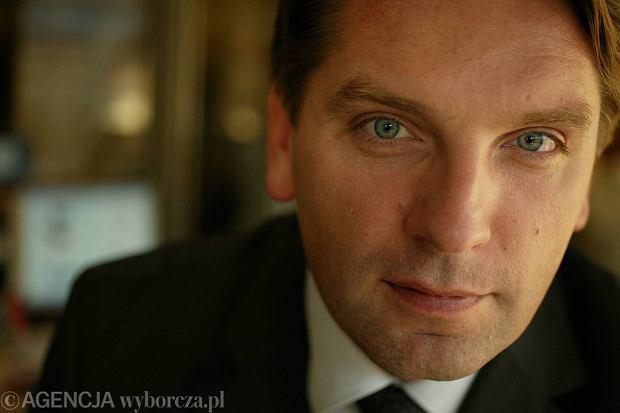 Tomasz Lis, redaktor naczelny tygodnika ''Newsweek''