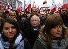 30 tys. osób na marszu PiS w Warszawie. Kaczyński oskarża prezydenta o tuszowanie fałszowania wyborów