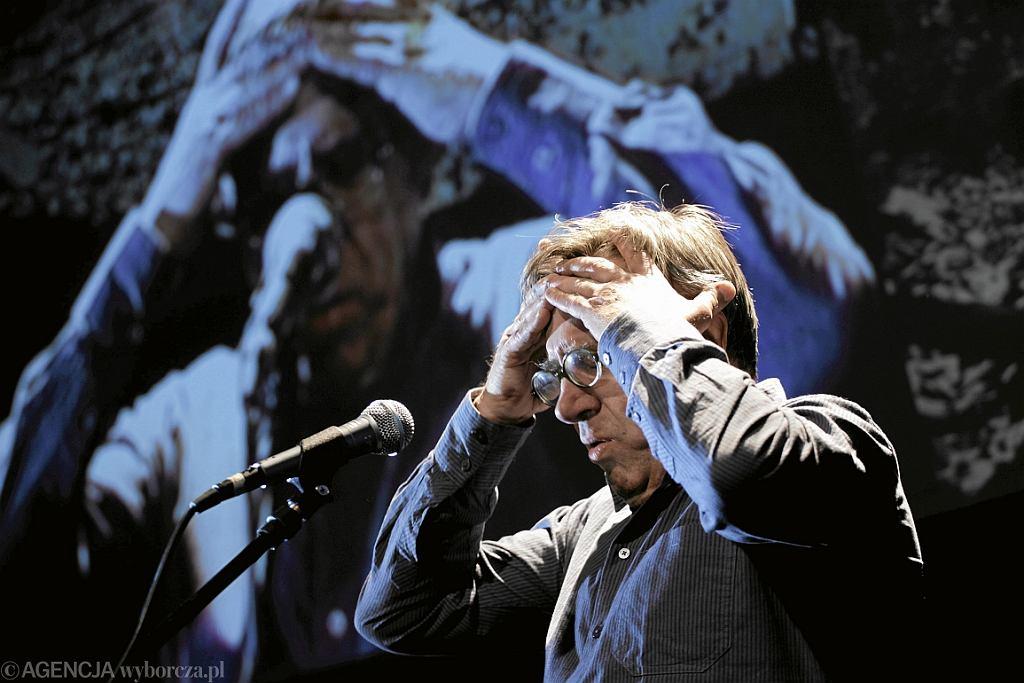 Jerzy Radziwiłowicz w przedstawieniu 'Prolog', reż. Michał Zadara (fot. Bartosz Bobkowski/AG)