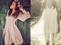 Sukienki boho - obowiązkowa pozycja każdego lata