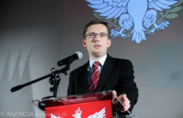 Robert Winnicki dostał się do Sejmu z listy Kukiz'15