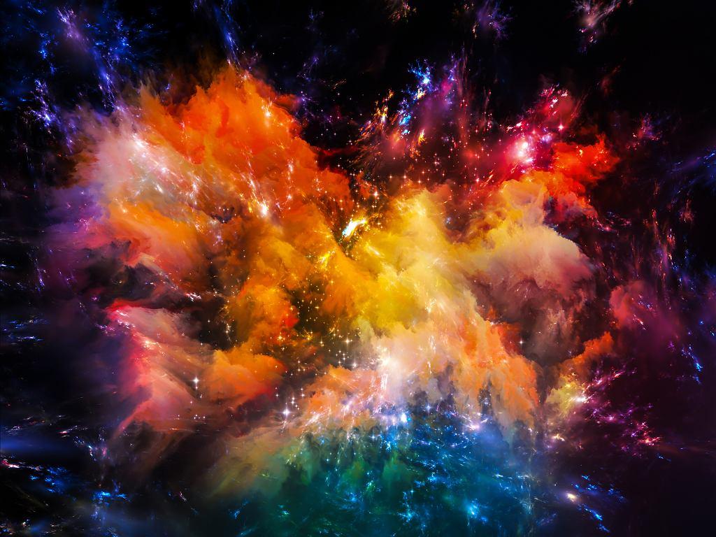 Jedna z mgławic występujących w kosmosie (fot. agsandrew / iStockphoto.com)
