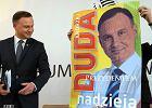 Wybory prezydenckie 2015. Andrzej Duda pokazał nowe plakaty. Mają dość niezwykłe kolory
