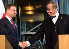 Duda na kresach NATO. Pierwsza zagraniczna wizyta nowego prezydenta