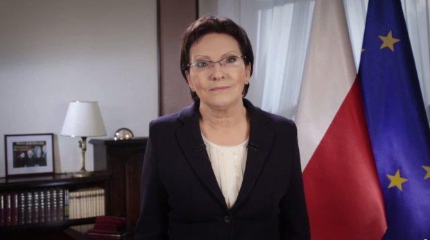 Premier Ewa Kopacz w przemówieniu noworocznym