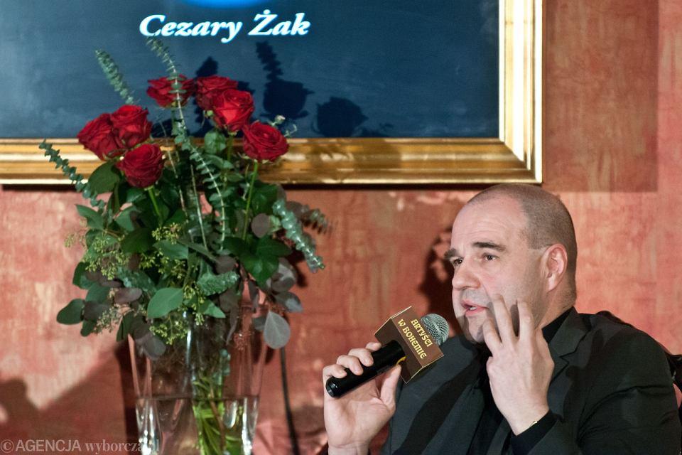Cezary Żak na spotkaniu z widzami w Bydgoszczy