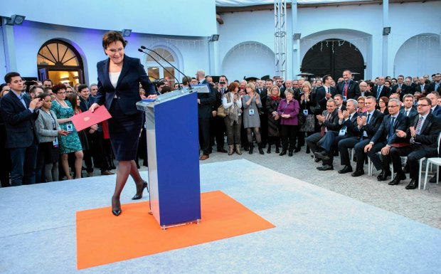 Wygląda na to, że Ewa Kopacz postanowiła sprowokować przeciwnika. W piątek na konwencji PO (na zdjęciu)<br /><br /> mówiła między innymi, że po sobotnim marszu PiS