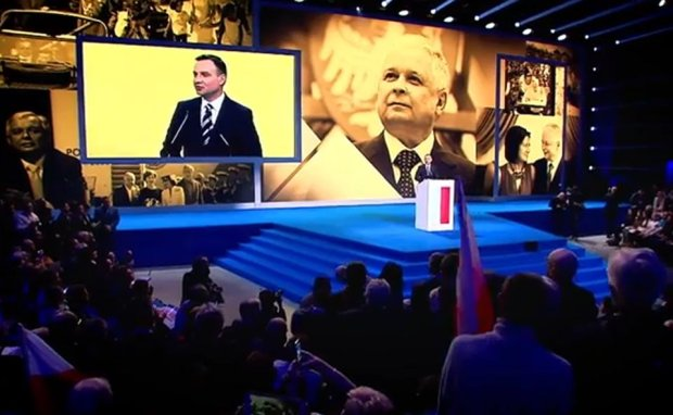 Kadr ze spotu Andrzeja Dudy
