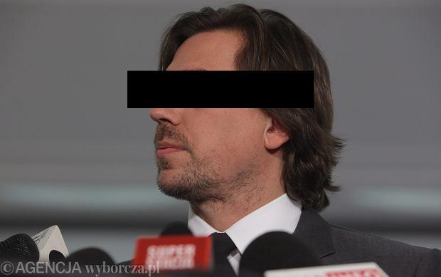 Były agent CBA, poseł Tomasz K.
