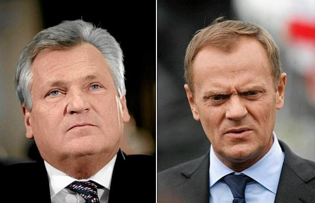 Aleksander Kwaśniewski, Donald Tusk