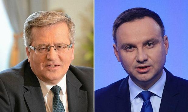 Wybory prezydenckie 2015. Bronisław Komorowski, Andrzej Duda
