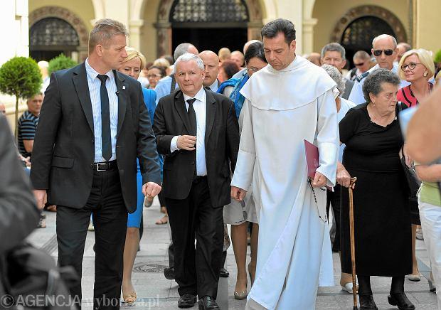 Jarosław Kaczyński na Jasnej Górze. Prezes PiS coraz częściej odwołuje się w wystąpieniach do religii i religijności