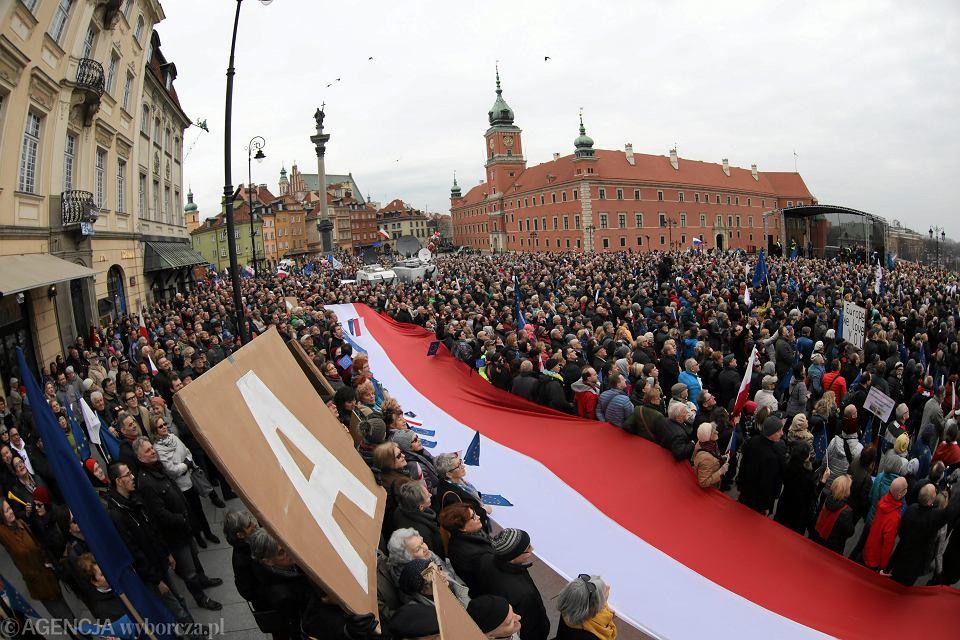 3Marsz dla Europy Kocham Cie, Europo ' w Warszawie