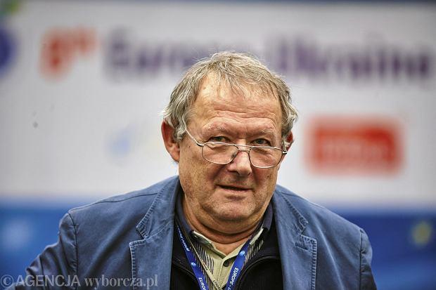 Adam Michnik, redaktor naczelny