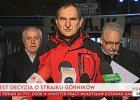 """Rozpoczął się strajk w Jastrzębskiej Spółce Węglowej. """"Prezes jest gotowy do rozwiązań siłowych, my też"""""""