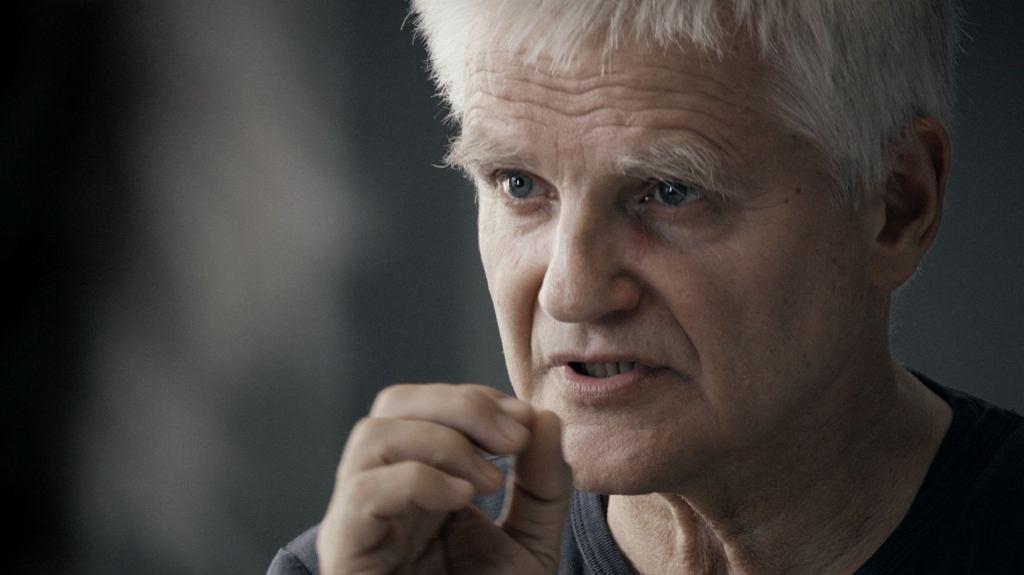 Profesor Bogdan de Barbaro (fot. kadr z filmu