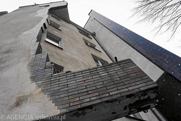 Plomba przy ul. Jeżyckiej 13 w Poznaniu