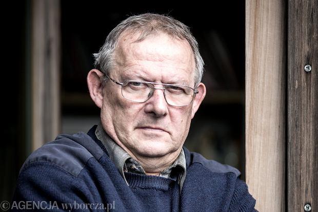 Redaktor naczelny Gazety Wyborczej Adam Michnik