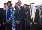 Michelle Obama bez chusty w Arabii Saudyjskiej