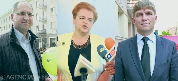 Adam Bielan, Marzena Wróbel, Krzysztof Sońta