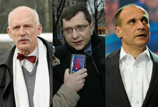 Janusz Korwin-Mikke. Zbigniew Stonoga, Paweł Kukiz