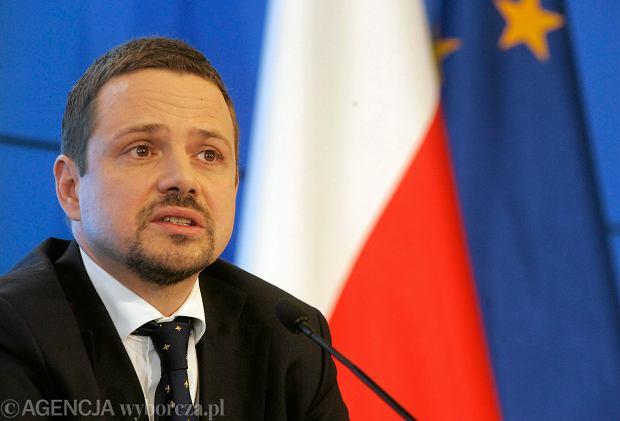 Wiceminister spraw zagranicznych Rafał Trzaskowski