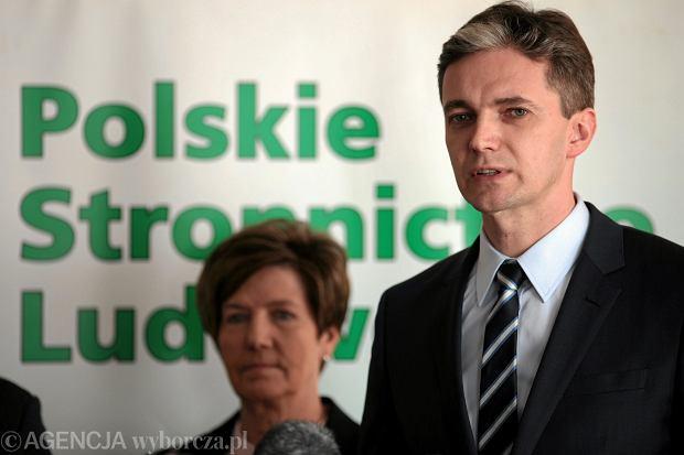 Adam Jarubas, kandydat PSL na prezydenta RP
