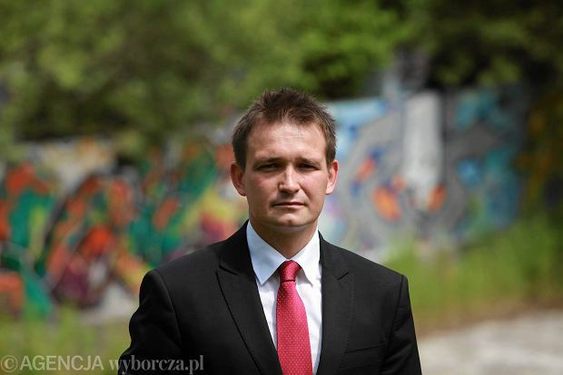Poseł PO Michał Jaros