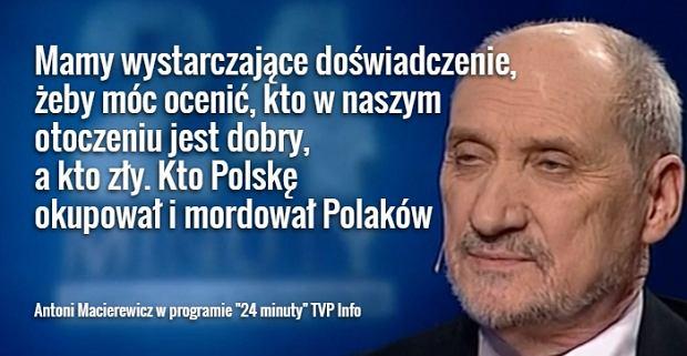 Znalezione obrazy dla zapytania Macierewicz zdjecia