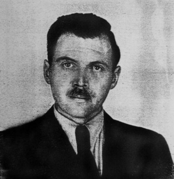 Joseph Mengele w 1956 roku