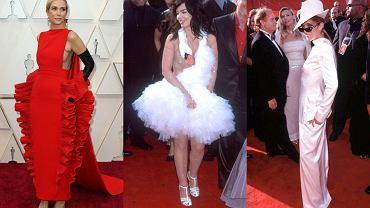 Oscars.  The worst outfits