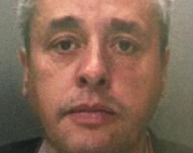 Ignacy B., jedyny członek szajki, który został skazany zaocznie - bo zerwał elektroniczną bransoletkę i uciekł