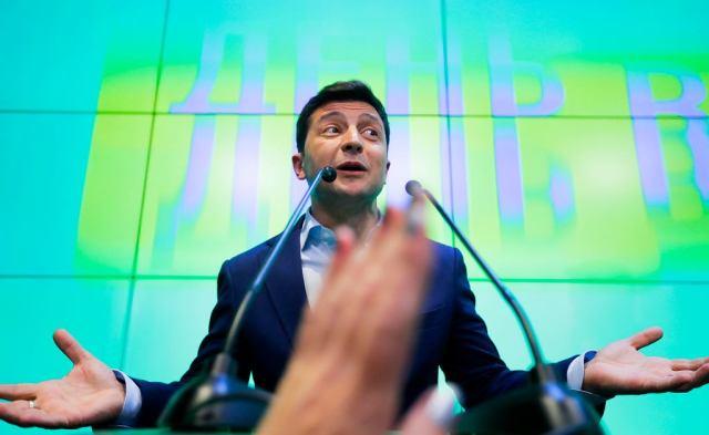 Znalezione obrazy dla zapytania zelenski i jego partia zdjecia