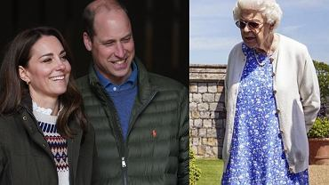 Prince William, Duchess Kate, Queen Elizabeth II