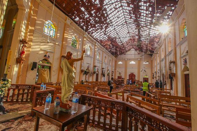 Zamach na Sri Lance. Kościół św. Sebastiana w Negombo